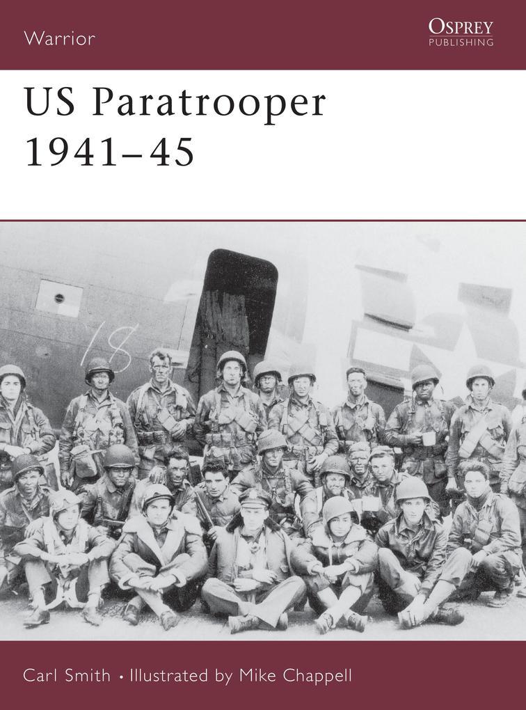 US Paratrooper, 1941-45 als Taschenbuch