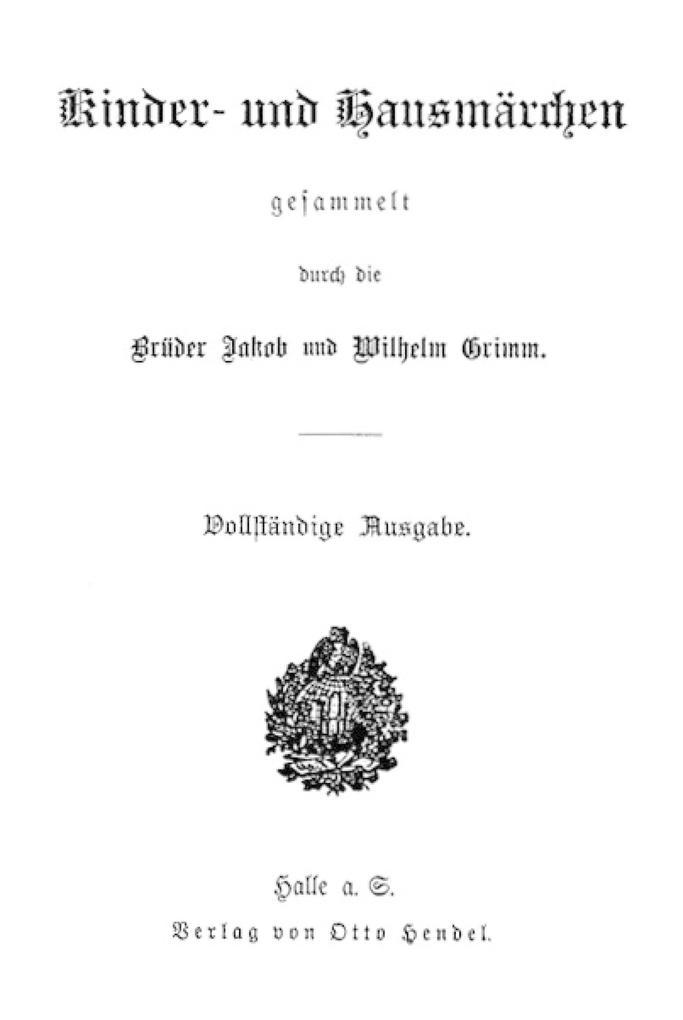 Brüder Grimm komplette Kindermärchen als eBook epub