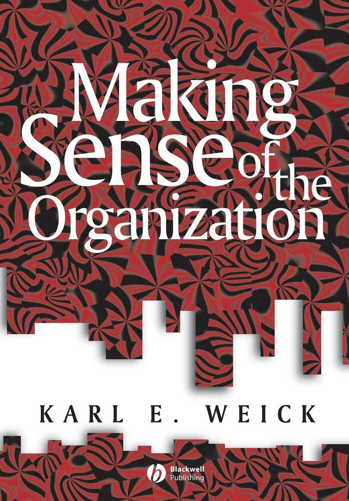 Making Sense of the Organizati als Buch (kartoniert)