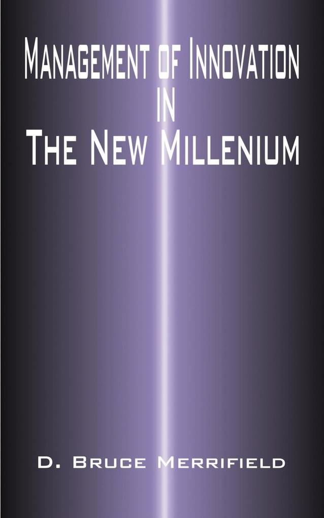 Management of Innovation in the New Millennium als Taschenbuch