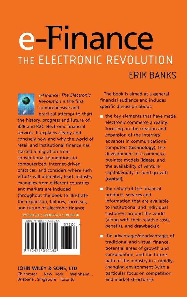 E-Finance als Buch (gebunden)
