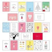 25 handgemachte Weihnachtskarten Teil 2