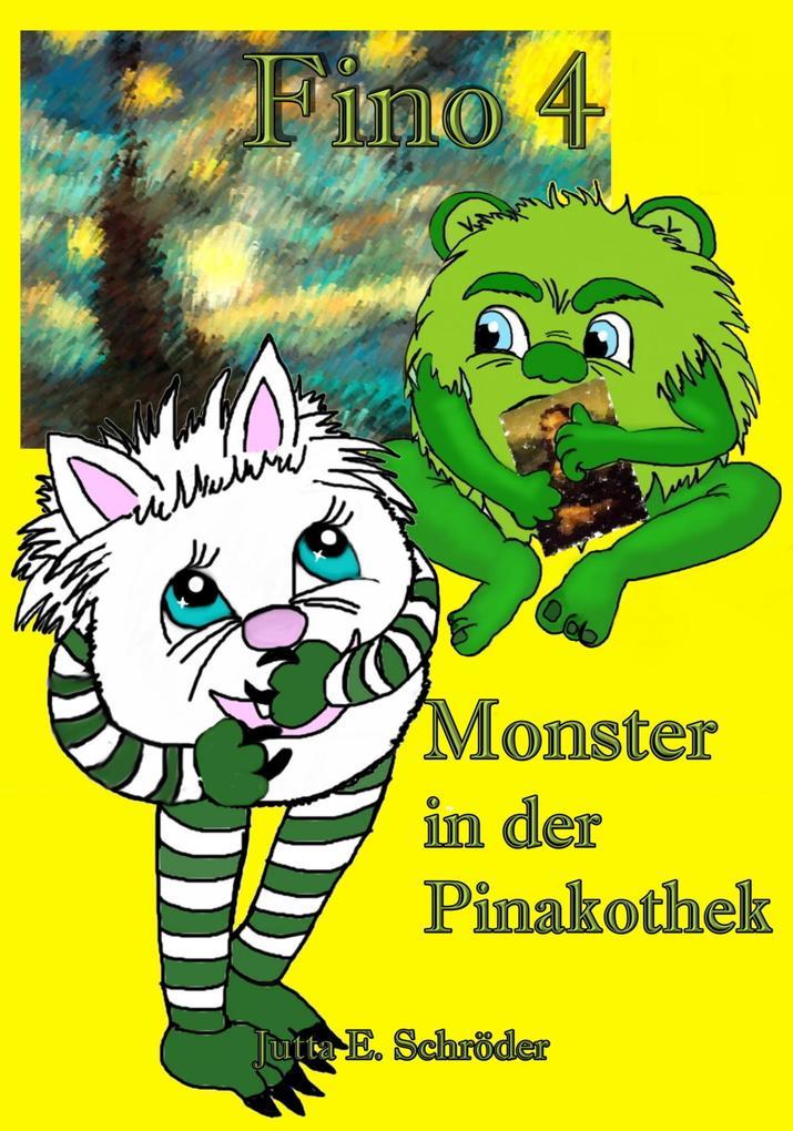 Fino 4 - Monster in der Pinakothek als eBook epub