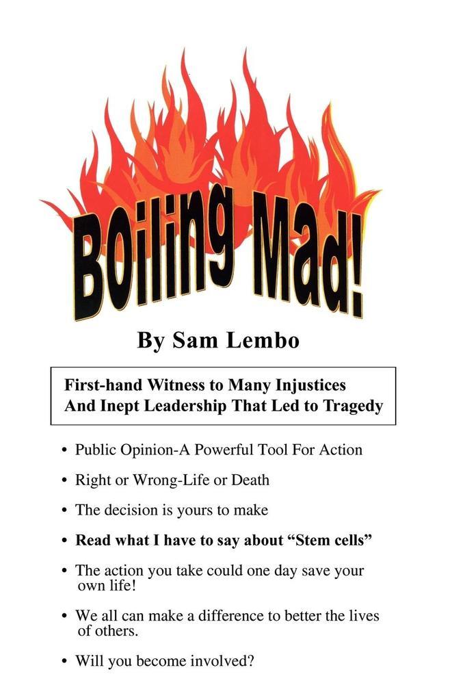 Boiling Mad! als Taschenbuch