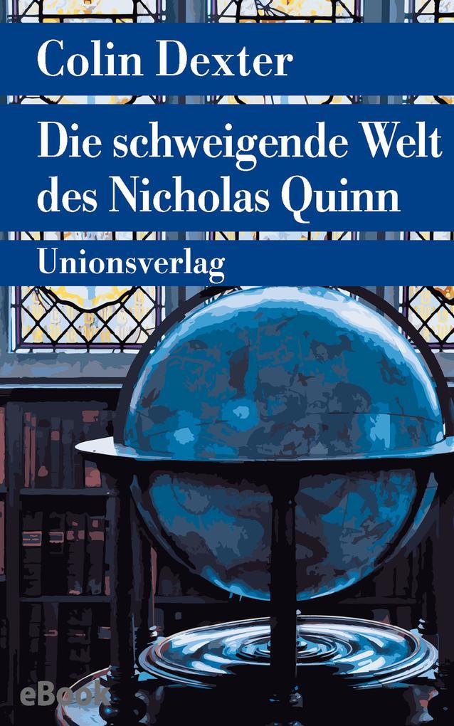 Die schweigende Welt des Nicholas Quinn als eBook epub