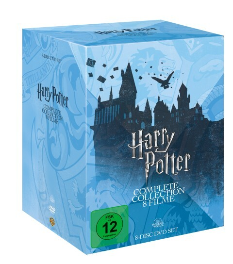 Harry Potter: The Complete Collection als DVD