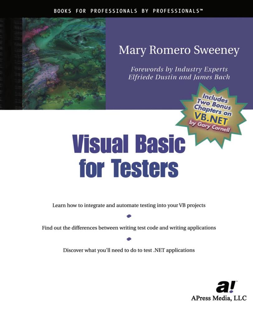 Visual Basic for Testers als Buch (gebunden)