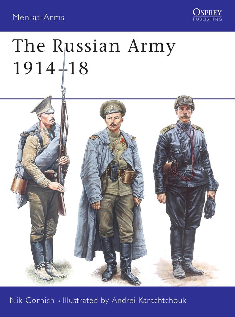 The Russian Army 1914-18 als Taschenbuch