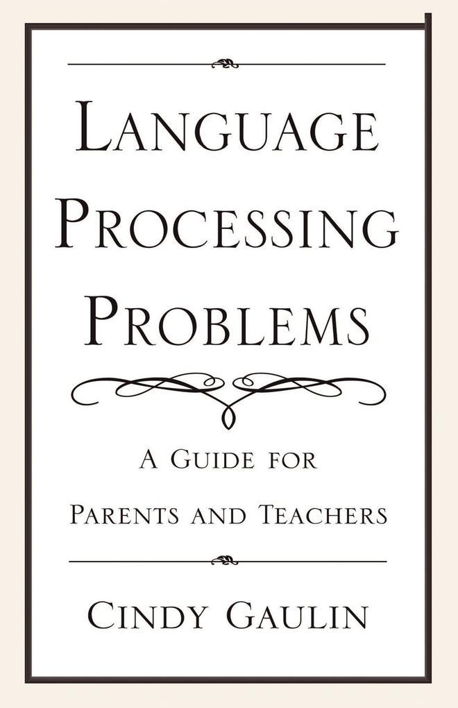 Language Processing Problems als Taschenbuch