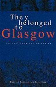 They Belonged to Glasgow als Taschenbuch