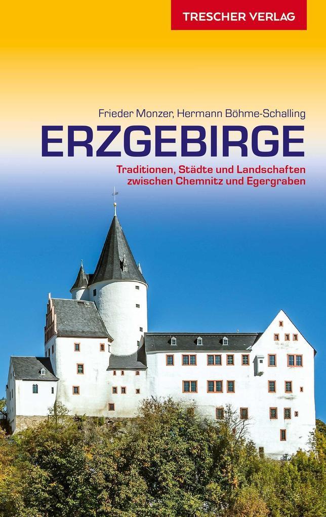 Reiseführer Erzgebirge als Buch (kartoniert)
