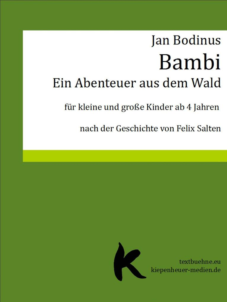 Bambi als eBook epub