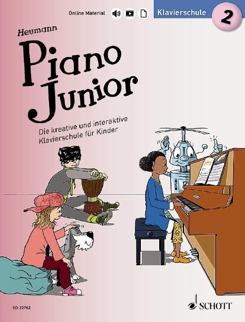 Piano Junior: Klavierschule 2 als Buch (kartoniert)