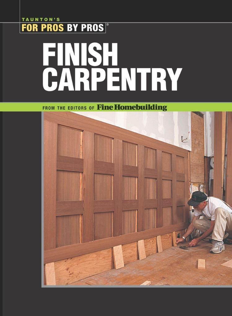 Finish Carpentry als Taschenbuch