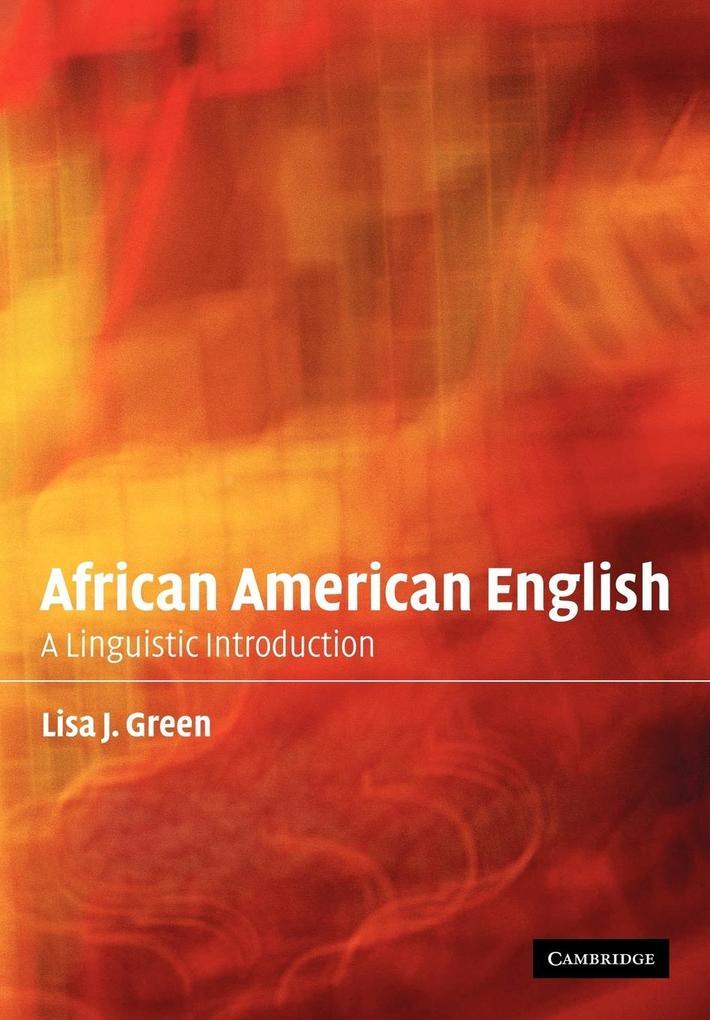 African American English als Taschenbuch