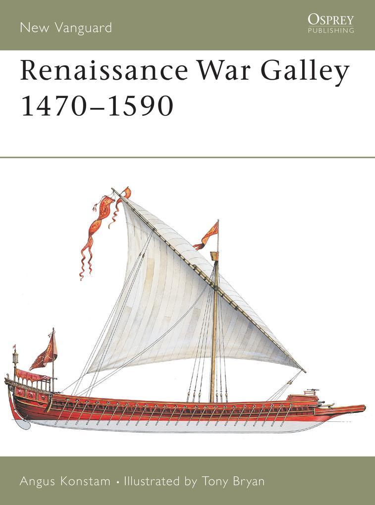 Renaissance War Galley 1470-1590 als Taschenbuch