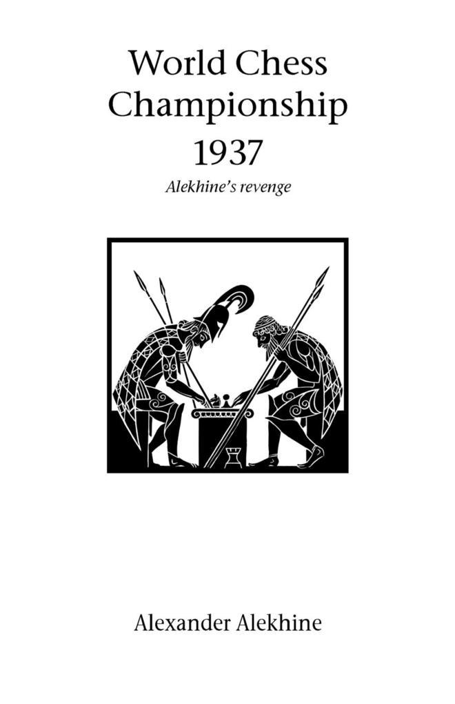 World Chess Championship 1937 als Taschenbuch