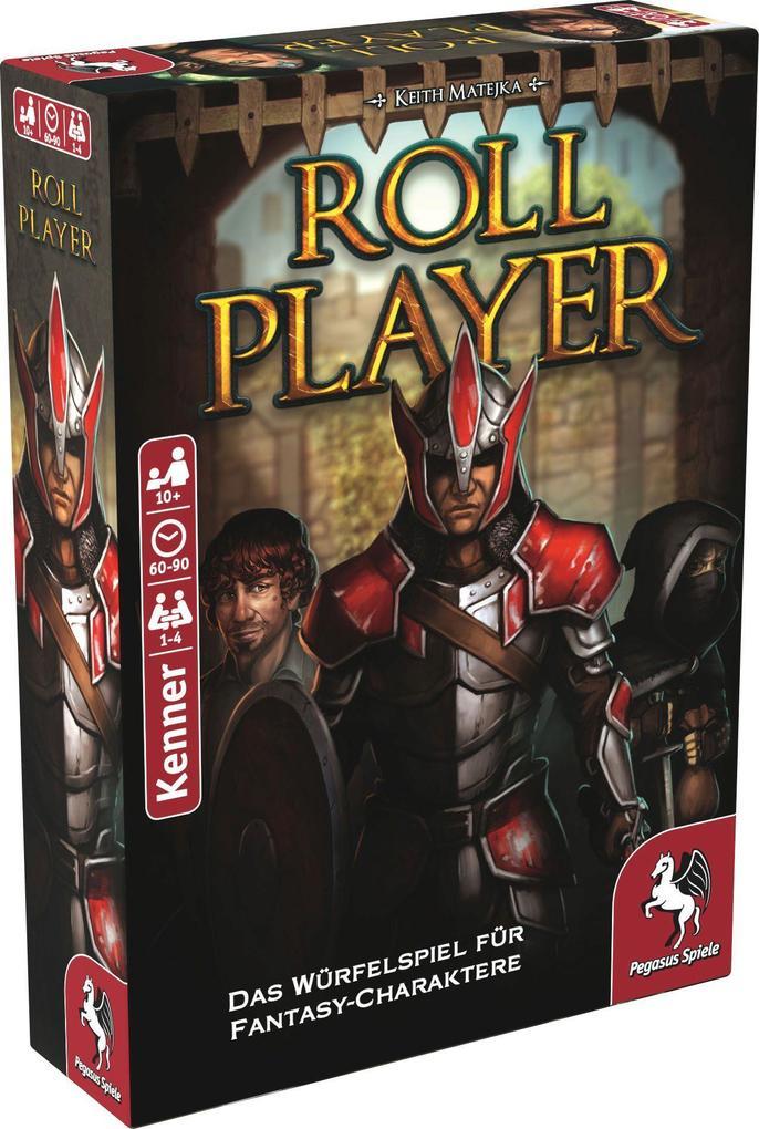 Pegasus Spiele - Roll Player, deutsche Ausgabe als Spielware
