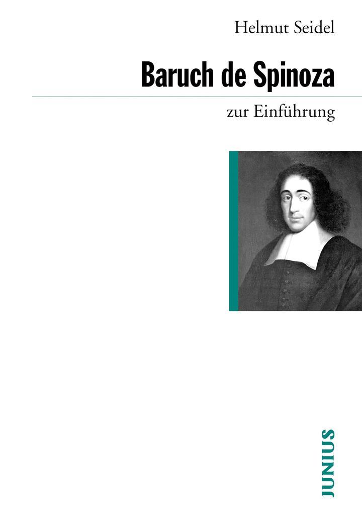 Baruch de Spinoza zur Einführung als eBook epub