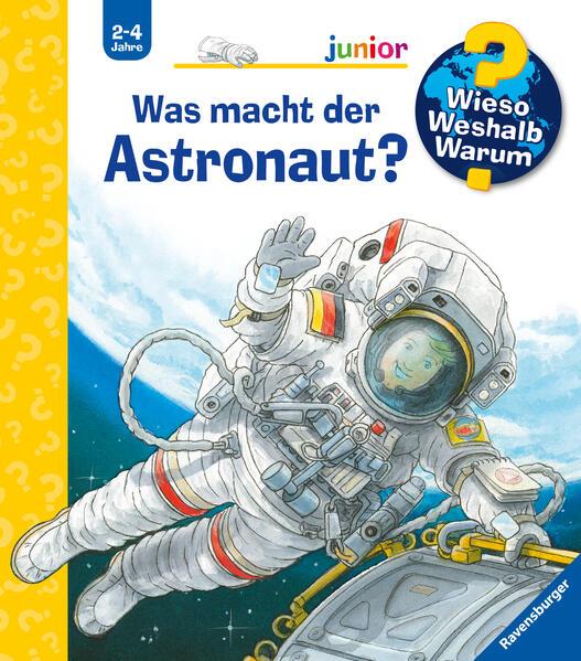 Was macht der Astronaut? als Buch (kartoniert)
