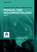 Manual der Koloproktologie, 2. Bd.2