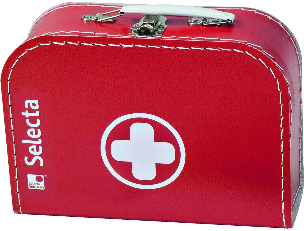 Schmidt Spiele - Selecta - Arztkoffer, 25x18 cm als Spielware