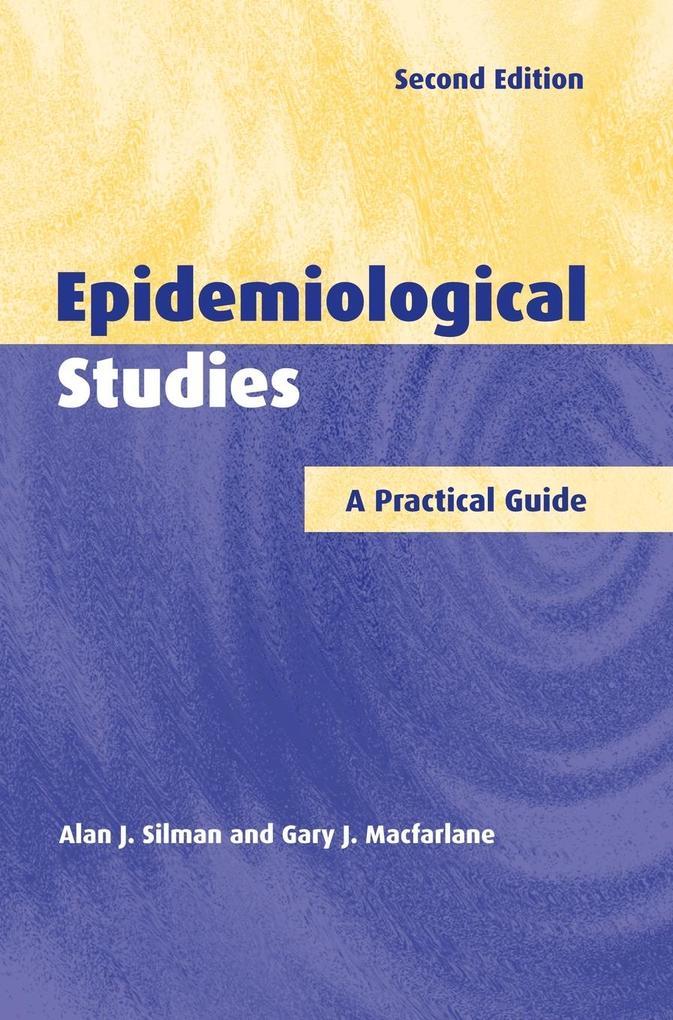 Epidemiological Studies als Buch (gebunden)