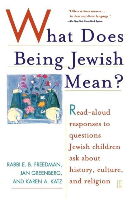 What Does Being Jewish Mean? als Taschenbuch