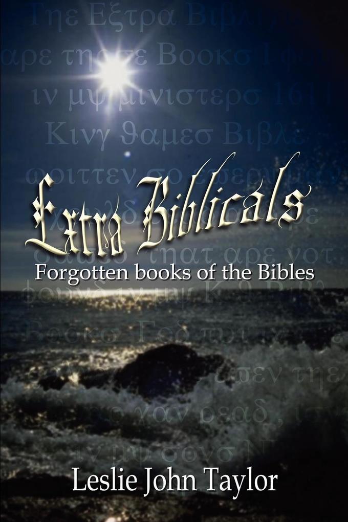 Extra Biblicals als Taschenbuch