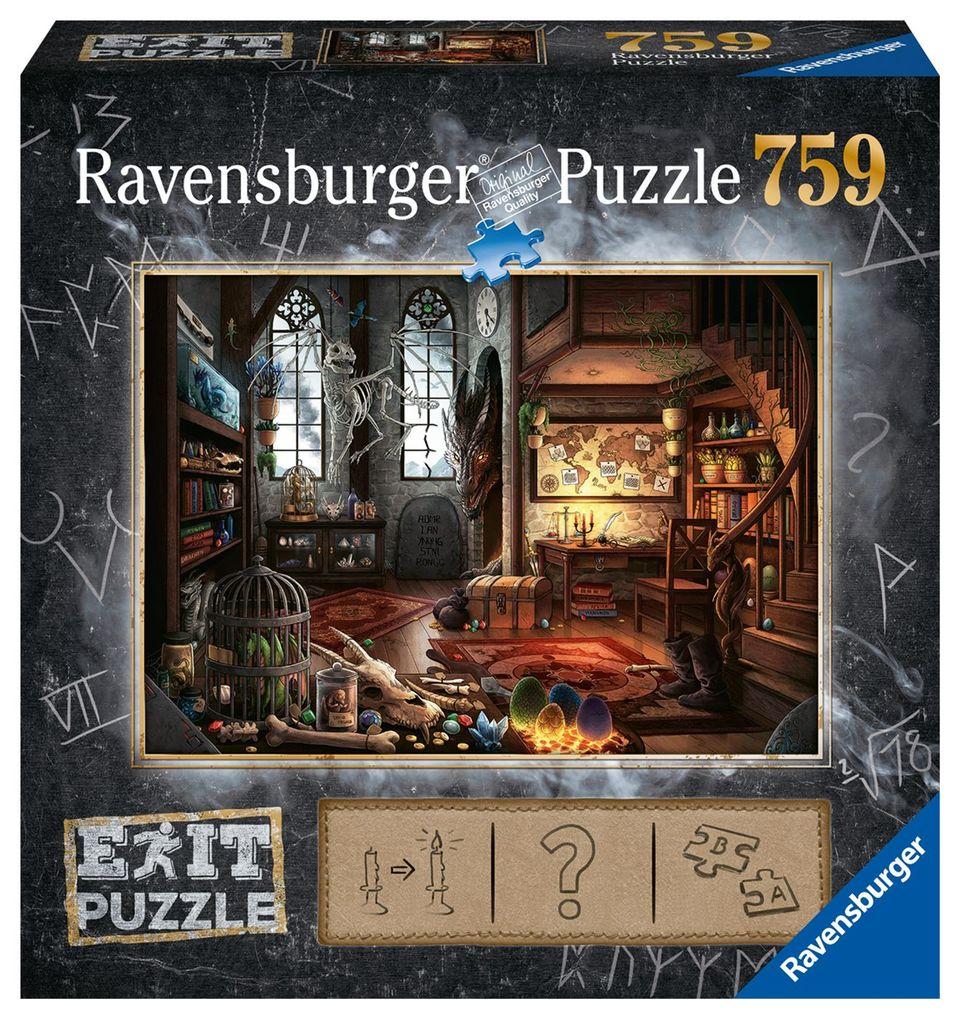 Exit 5 Im Drachenlabor - Puzzle 759 Teile als Spielware