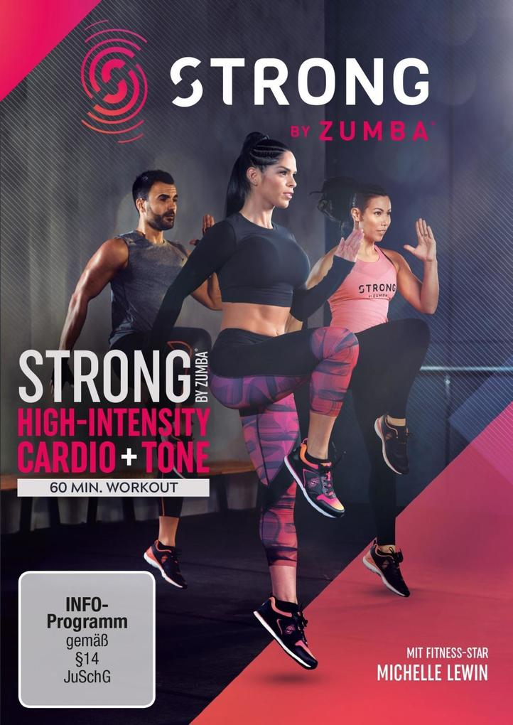 Strong by Zumba als DVD
