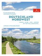 Planungskarte Wasserstraßen Deutschland Nordwest