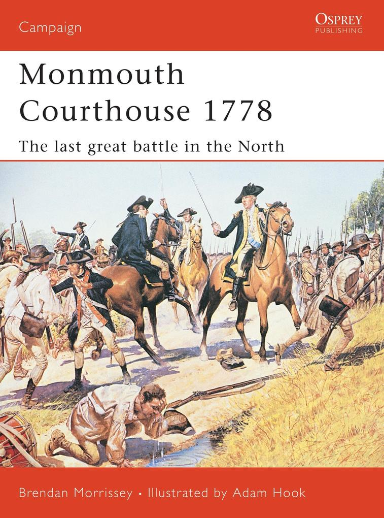 Monmouth Courthouse 1778 als Taschenbuch