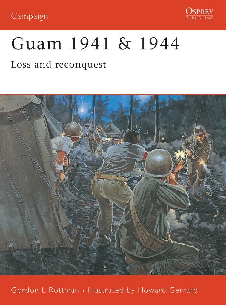 Guam 1941/1944 als Taschenbuch