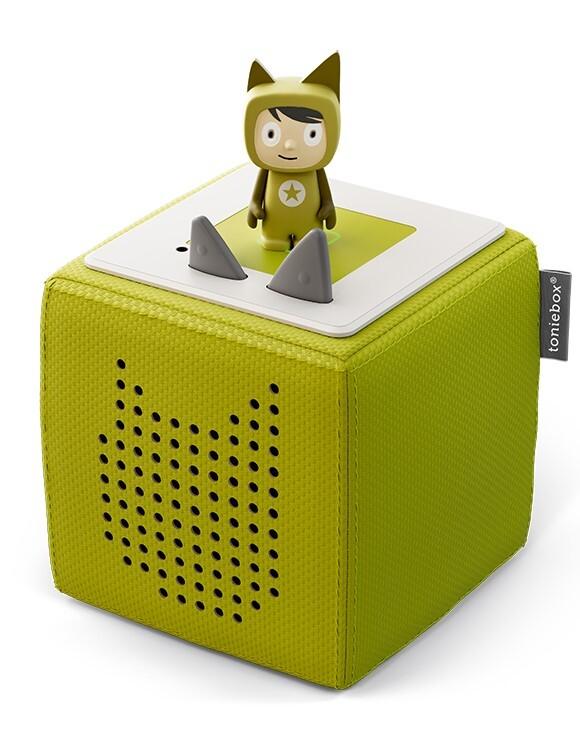 Starterset Toniebox Grün (Kreativ-Tonie) als Spielware