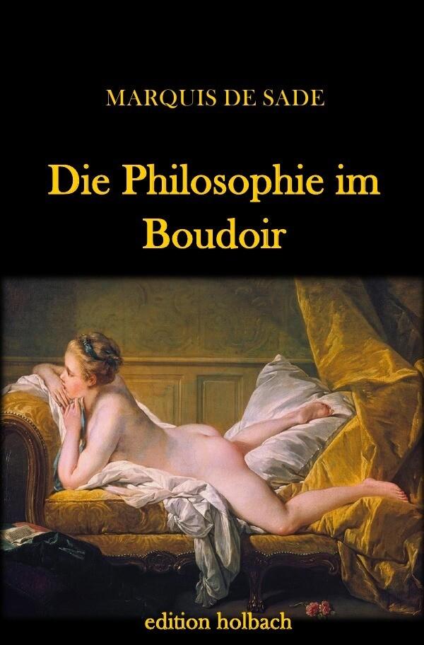 Die Philosophie im Boudoir als Buch (kartoniert)