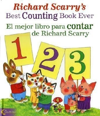 Richard Scarry's Best Counting Book Ever/ El Mejor Libro Para Contar De Richard Scarry als Taschenbuch