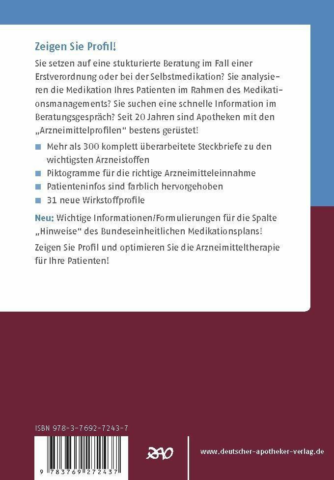 Arzneimittelprofile für die Kitteltasche als eBook pdf