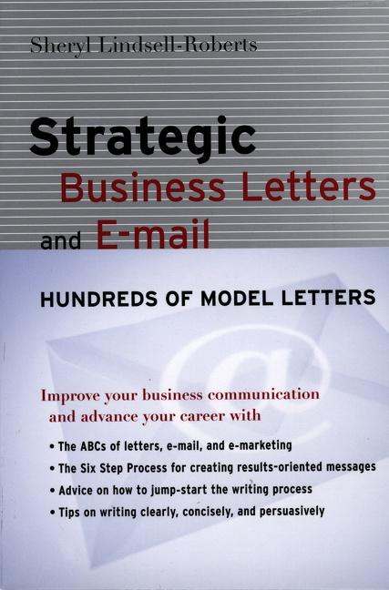 Strategic Business Letters and E-mail als Taschenbuch