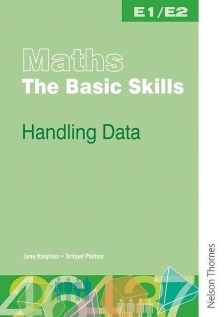 Maths the Basic Skills Handling Data Worksheet Pack E1/E2 als Taschenbuch