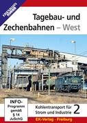 Tagebau- und Zechenbahnen - West