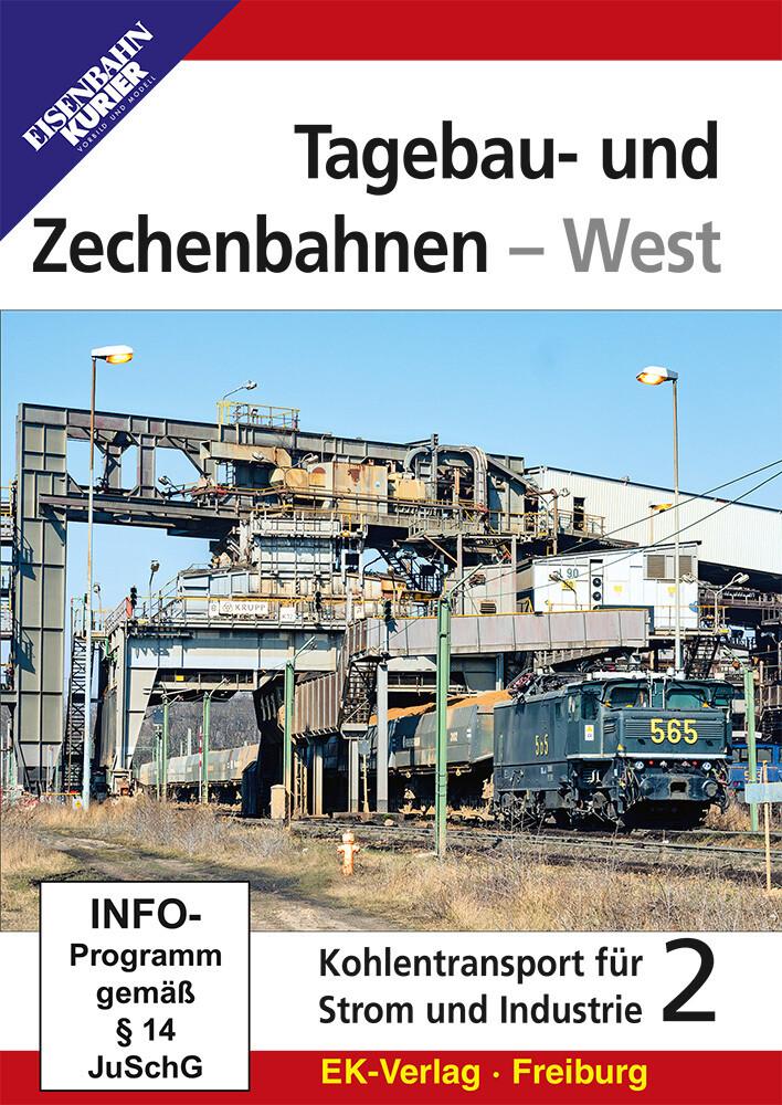 Tagebau- und Zechenbahnen - West als DVD
