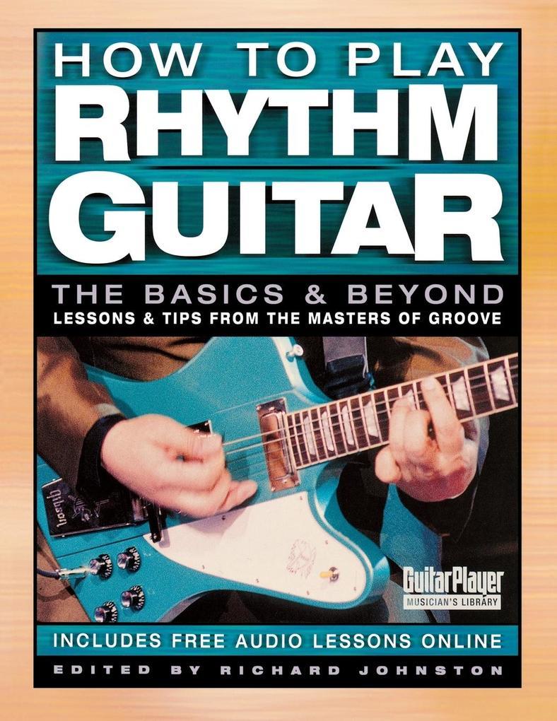 How to Play Rhythm Guitar als Taschenbuch