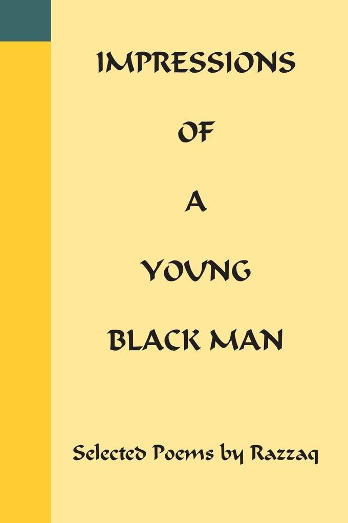 Impressions of a Young Black Man als Taschenbuch