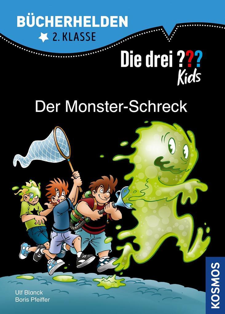 Die drei ??? Kids, Bücherhelden, Der Monster-Schreck als Buch (gebunden)