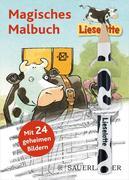 Lieselotte Magisches Malbuch, m. Bleistift