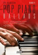 Pop Piano Ballads 4 (mit 2 CDs)
