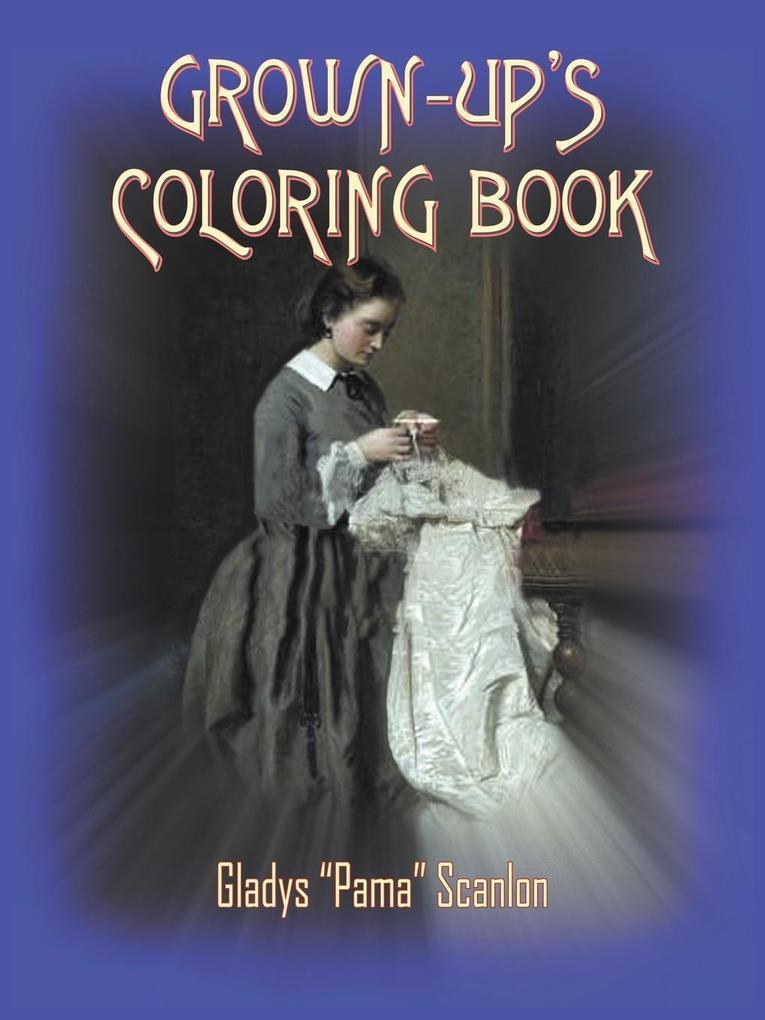 GROWN-UP'S COLORING BOOK als Taschenbuch