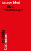 Was ist Phänomenologie?