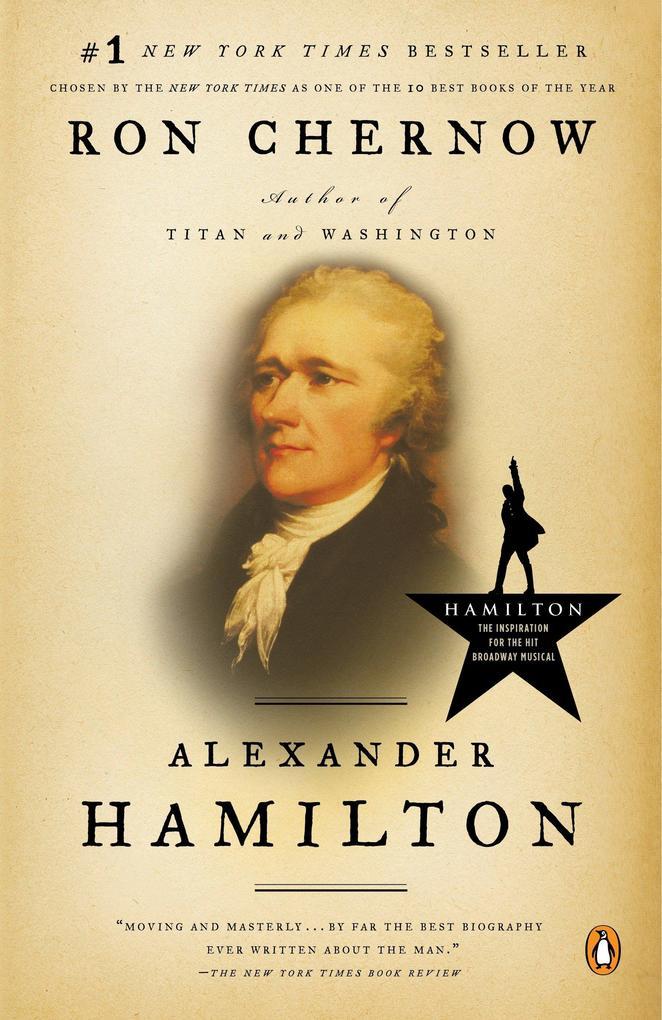Alexander Hamilton als Buch (kartoniert)